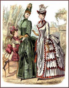 Victorian Fashion Plate